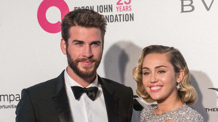 Liam Hemsworth und Miley Cyrus bei einer Veranstaltung in Los Angeles, März 2018