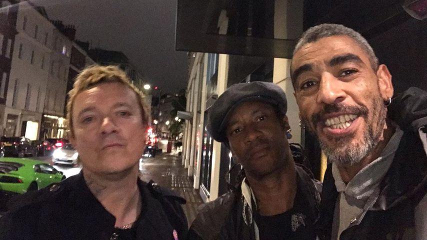 Liam Howlett, Maxim und Leeroy Thornhill von The Prodigy