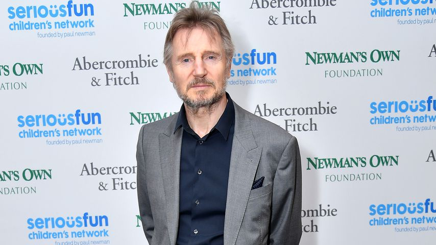 Liam Neeson in New York City