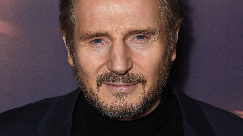 Liam Neeson bei einer Premiere in Paris