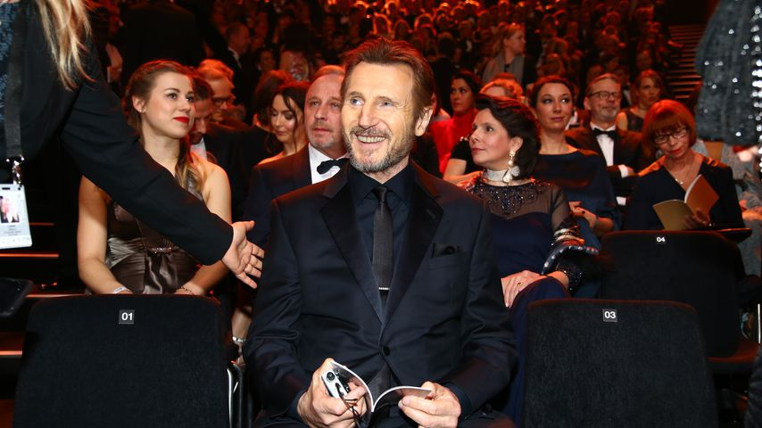 Liam Neeson während der Goldenen Kamera 2018