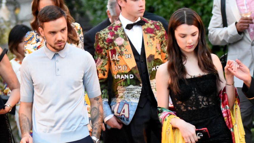 Liam Payne und Maya Henry beim Dolce and Gabbana Fashionevent 2018