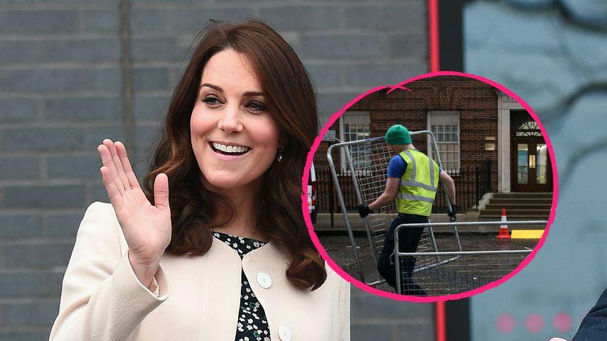 Herzogin Kate: Hier wird schon ihr Klinik-Flügel abgesperrt!