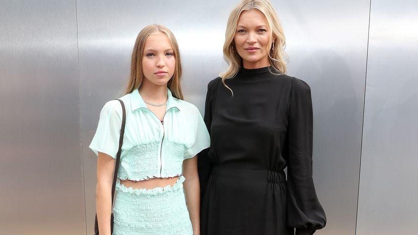 Wow: Lila und ihre Mutter Kate Moss sehen aus wie Twins!