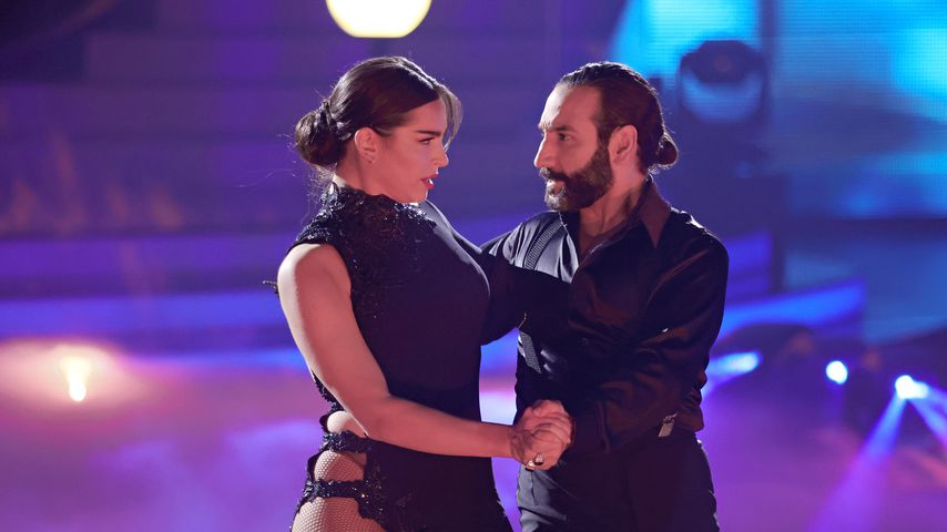 "Lili Paul-Roncalli und Massimo Sinató bei ""Let's Dance"" 2021"