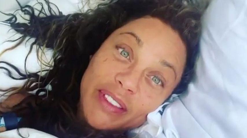 Ungeschminkt im Bett: Lilly Becker gratuliert sich selbst