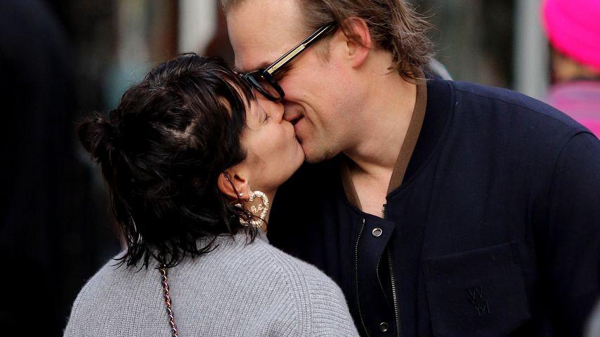 Lily Allen und David Harbour im Oktober 2019