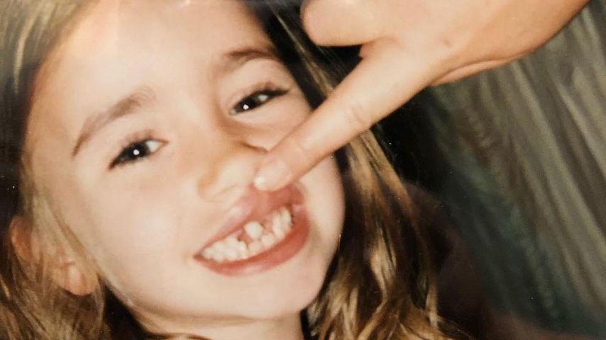 Schauspielerin Lily Collins als Kind