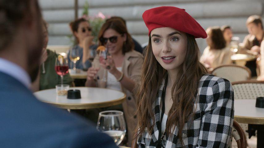 """Lily Collins in der Netflix-Serie """"Emily in Paris"""""""