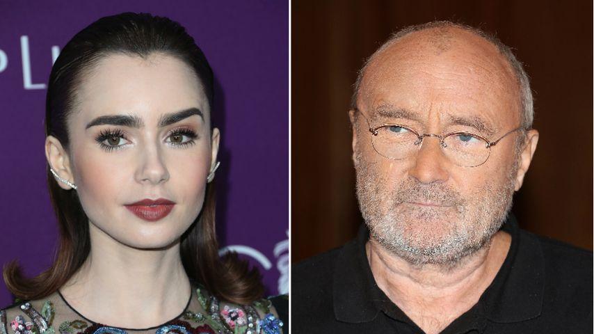 Für Magersucht: Lily Collins gibt ihrem Vater die Schuld!