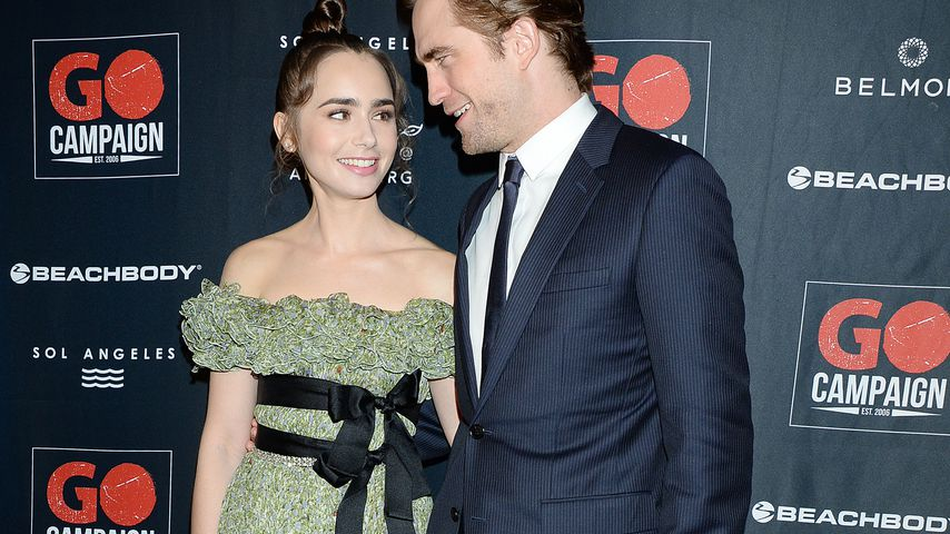 Lily Collins und Robert Pattinson