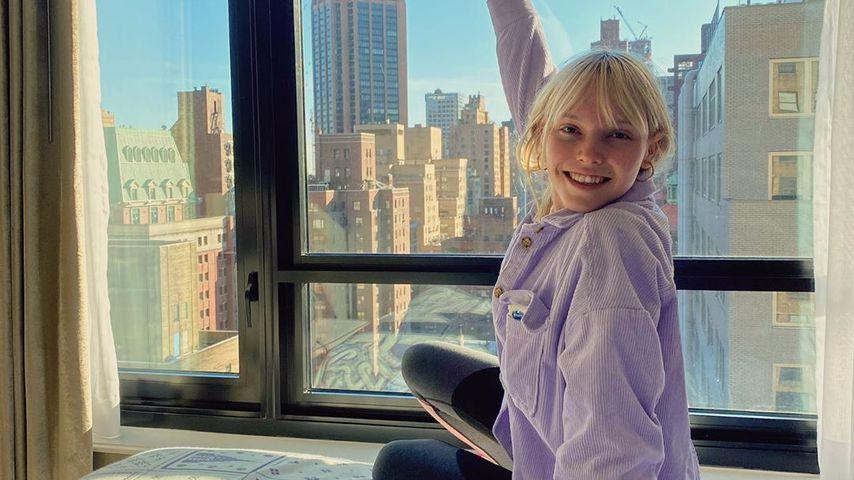 Lina Larissa Strahl im März 2020 in New York