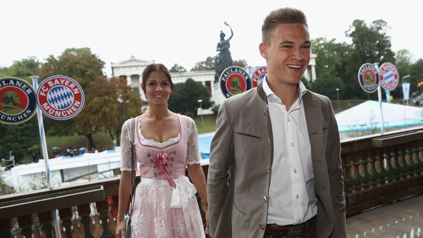 Lina Meyer und Joshua Kimmich, Oktoberfest 2016