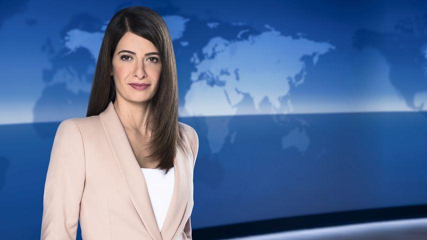 Linda Zervakis, Sprecherin der Tagesschau