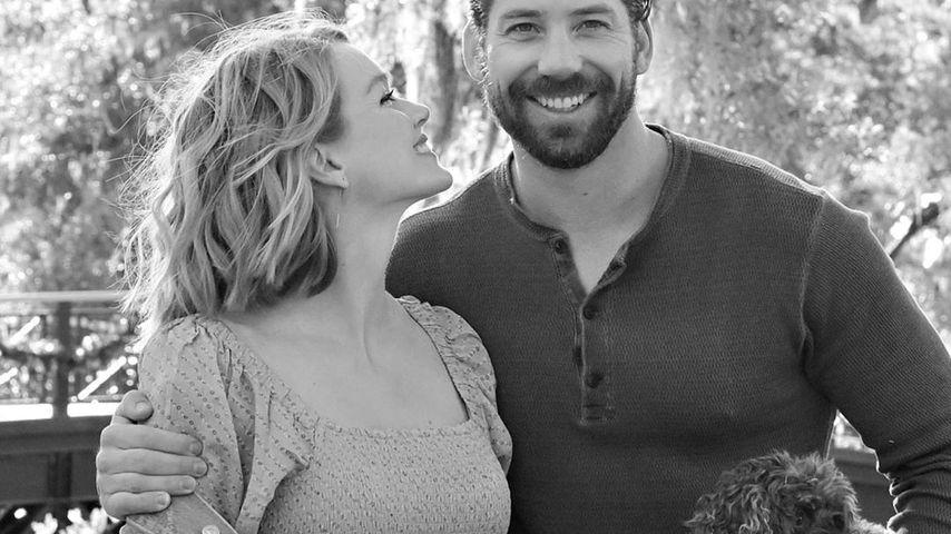 Lindsay Ellingson und Ehemann Sean Clayton im Januar 2020