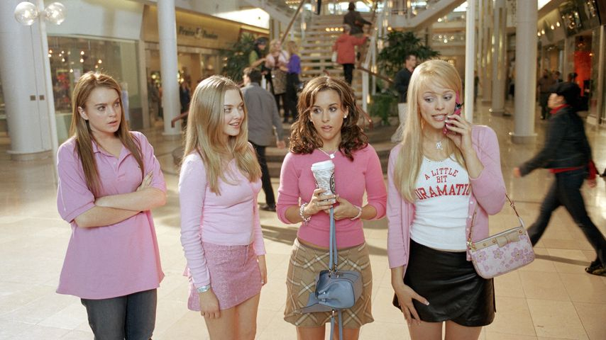 "Lindsay Lohan, Amanda Seyfried, Lacey Chabert und Rachel McAdams in ""Girls Club"""