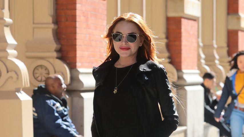 Lindsay Lohan in New York, März 2019