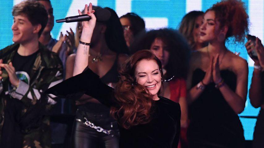 Lindsay Lohan bei den MTV EMAs 2018