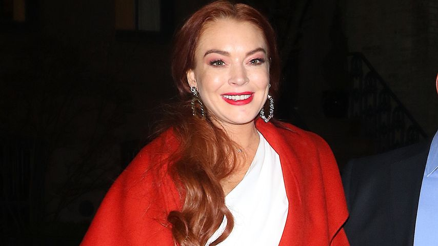 "Lindsay Lohan bei einer Party ihrer TV-Show ""Lindsay Lohan's Beach Club"""
