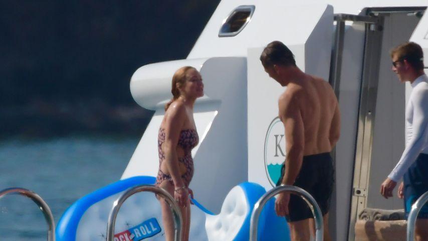 Lindsay Lohan im Sardinien-Urlaub
