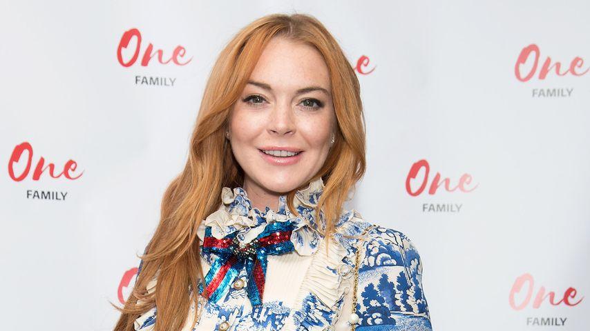 Lindsay Lohan bei einer Veranstaltung in London, 2017