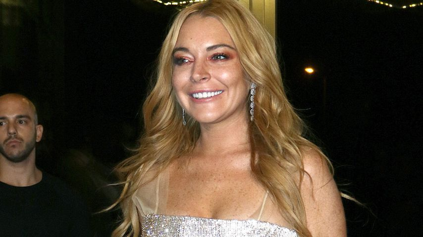 """Lindsay Lohan bei der Eröffnung ihres Nightclubs """"Lohan"""" in Athen"""