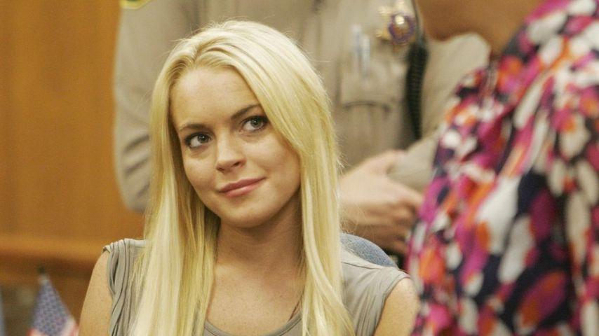 Lindsay Lohan wieder voll mobil