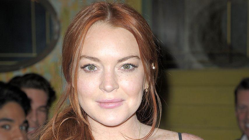 Im Halloween-Fieber: Lindsay Lohan gibt das sexy Kätzchen
