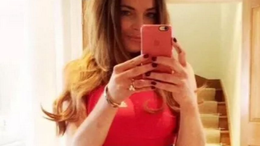 Schon wieder! Lindsay Lohan legt Photoshop-Fail Nr. 2 hin