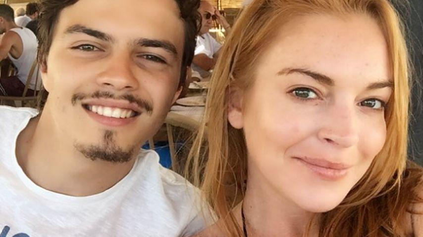 Lindsay Lohan und Egor Tarabsov im Juli 2016