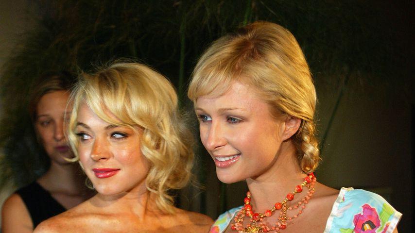 Lindsay Lohan und Paris Hilton, Juni 2005