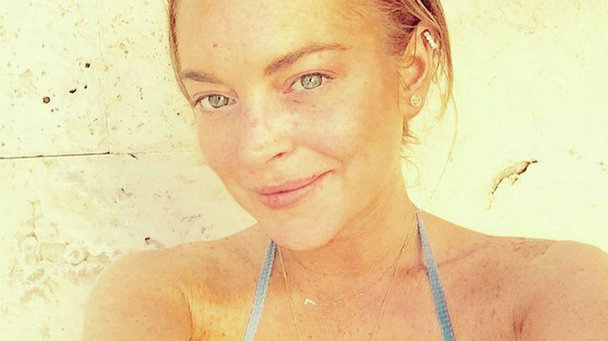 Natural Beauty: Lindsay Lohan lässt Sommersprossen funkeln