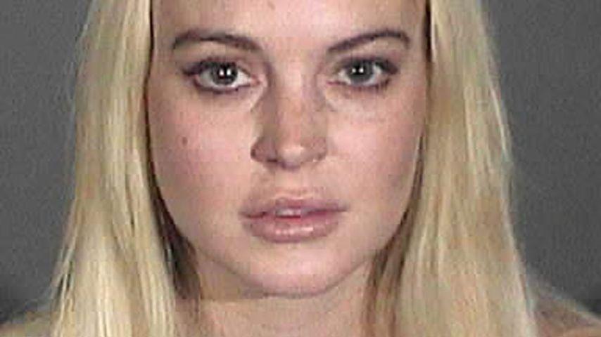 Polizeifoto von Lindsay Lohan