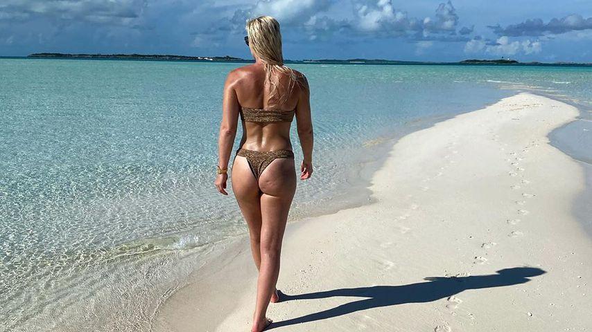 Lindsey Vonn auf den Bahamas 2020