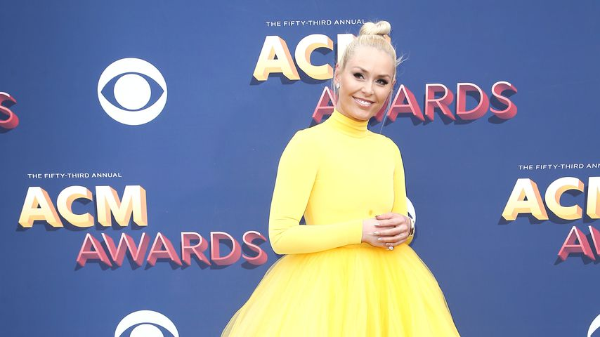 Lindsey Vonn bei den Academy of Country Music Awards 2018 in Las Vegas