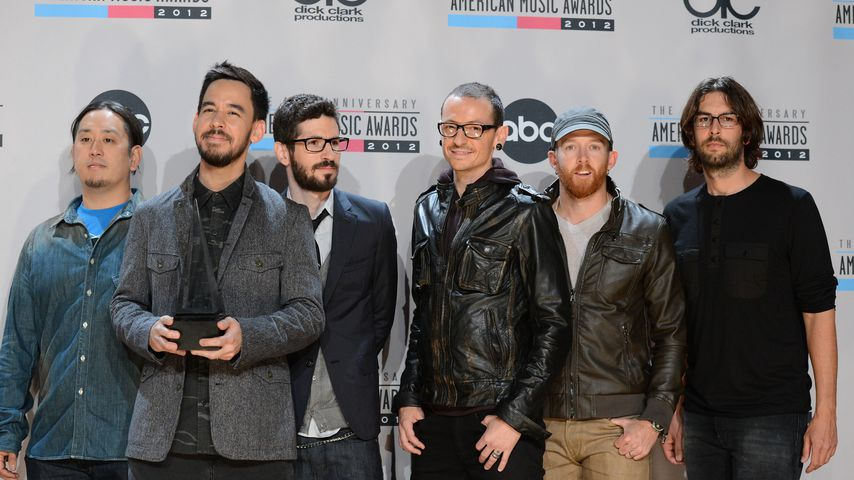 Linkin Park bei den American Music Awards in Los Angeles 2012