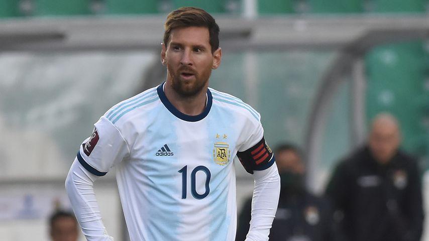 Lionel Messi bei der Partie gegen Bolivien