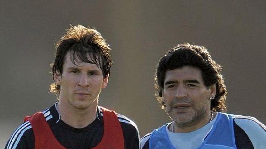 Lionel Messi sendet Diego Maradona nach OP Genesungswünsche