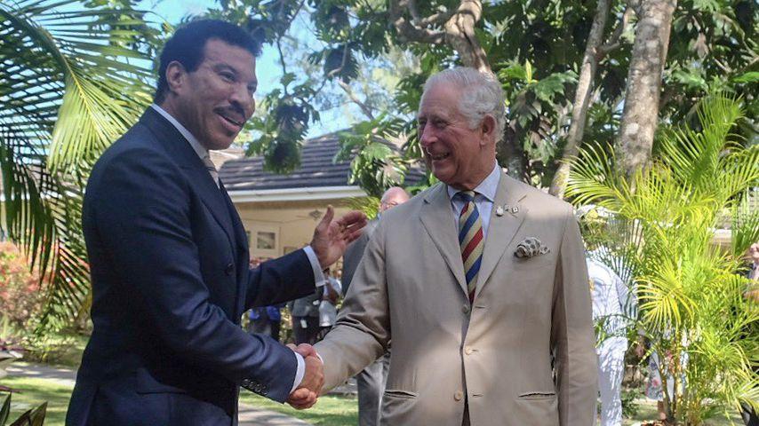 Lionel Richie und Prinz Charles im März 2019