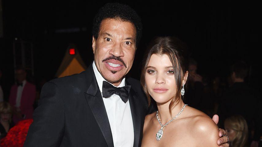 Lionel und Sofia Richie im März 2018
