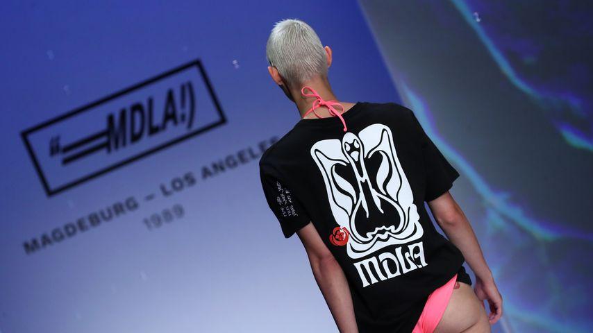 Lisa Bärmann auf der Berlin Fashion Week