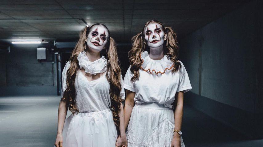 Lisa-Marie Schiffner und Ana Johnson an Halloween 2020
