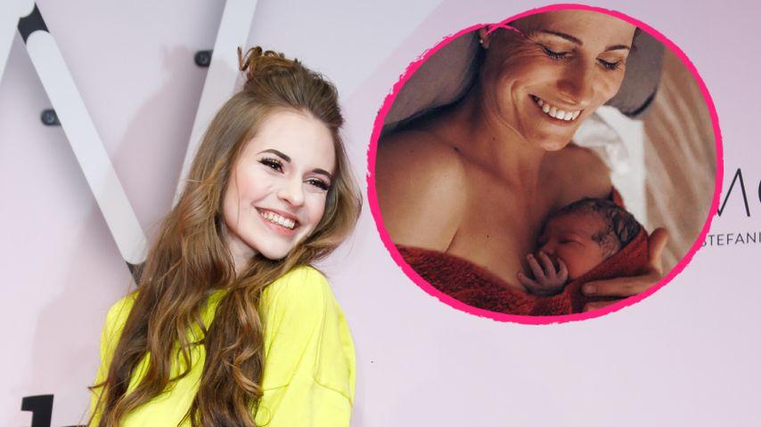 Glücklich: Lisa-Marie Schiffners Mama hat ihr Baby bekommen!