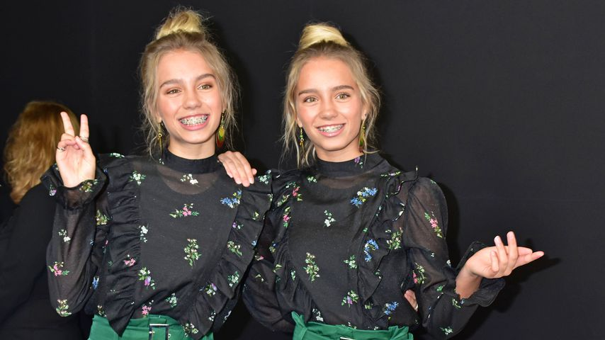 Lena und Lisa beim Bunte New Faces Award 2017