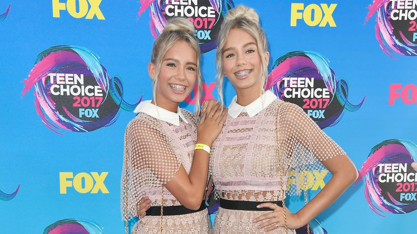 Lisa und Lena bei den Teen Choice Awards