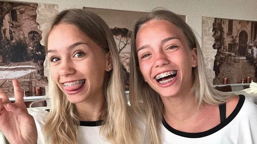 Jetzt auch Fashion-Twins? Lisa & Lena lösen T-Shirt-Hype aus