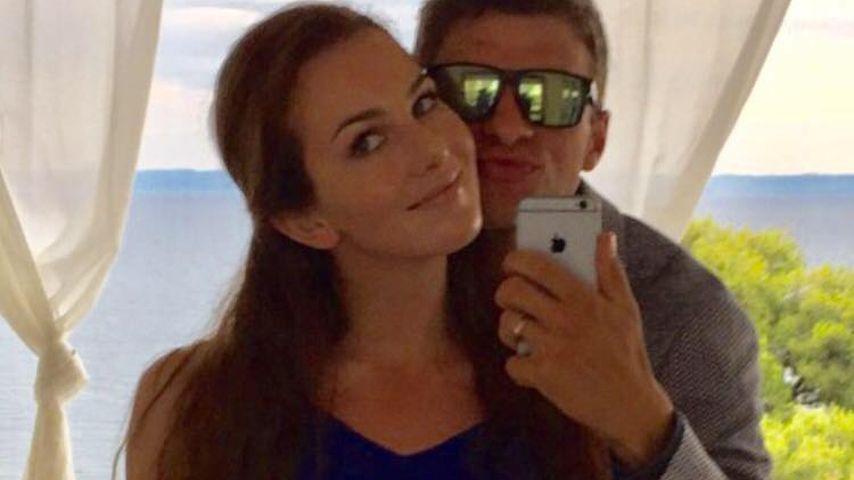 Thomas Müller: Seltenes Spaß-Paar-Selfie mit seiner Lisa!