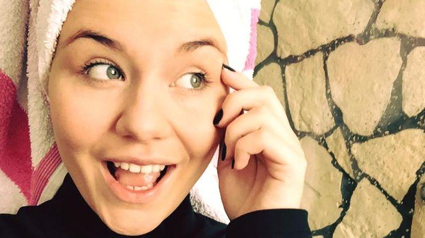 Babystress: Lisa Wohlgemuth hat kaum Zeit zum Haare waschen