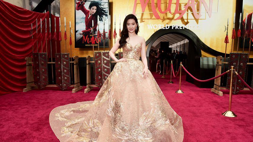 "Liu Yifei, Darstellerin des Disney-Films ""Mulan"""