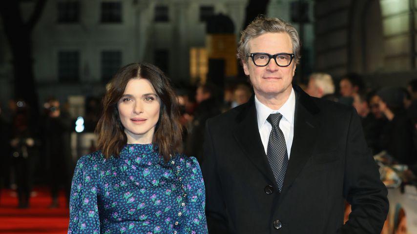 Rachel Weisz und Colin Firth in London, Februar 2018